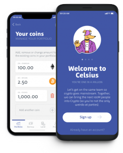 L'application de Celsius Network